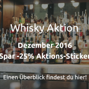 Whisky Aktion Dezember 2016